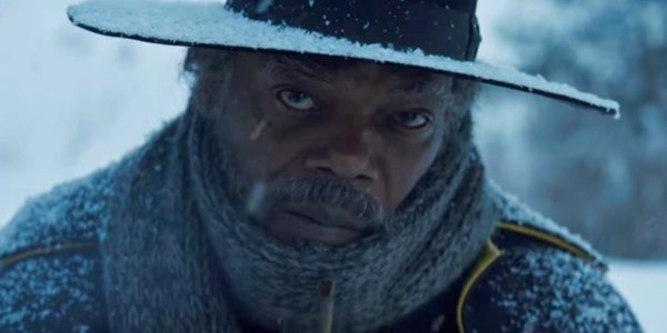 Samuel L. Jackson in 'The Hateful Eight'