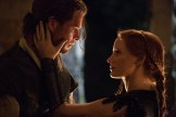 """Eric the Huntsman (CHRIS HEMSWORTH) grows closer to Sara (JESSICA CHASTAIN) in the story that came before Snow White: """"The Huntsman: Winter's War."""" Hemsworth and Oscar® winner Charlize Theron return to their roles from """"Snow White and the Huntsman,"""" joined by Emily Blunt and Chastain."""
