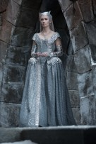 """EMILY BLUNT as the Ice Queen Freya in the story that came before Snow White: """"The Huntsman: Winter's War."""" Chris Hemsworth and Oscar® winner Charlize Theron return to their roles from """"Snow White and the Huntsman,"""" joined by Blunt and Jessica Chastain."""