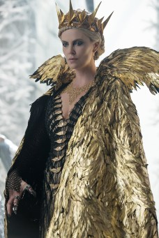 "Oscar® winner CHARLIZE THERON as the Evil Queen Ravenna in the story that came before Snow White: ""The Huntsman: Winter's War."" Chris Hemsworth and Theron return to their roles from ""Snow White and the Huntsman,"" joined by Emily Blunt and Jessica Chastain."