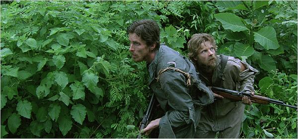 Christian Bale and Steve Zahn in 'Rescue Dawn'