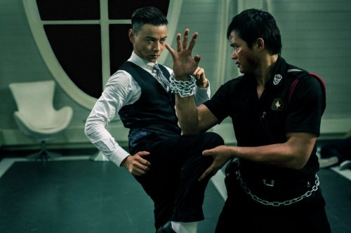 Zhang Jin and Tony Jaa in 'Kill Zone 2'