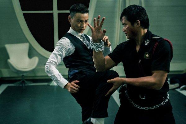 Zhang Jin and Tony Jaa in 'Kill Zone 2'