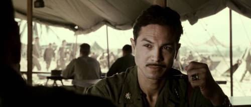 Benjamin Bratt as Lt Colonel Henry Mucci in 'The Great Raid'