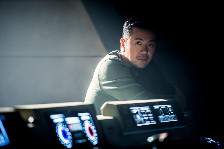 Director Justin Lin on the set of 'Star Trek Beyond'