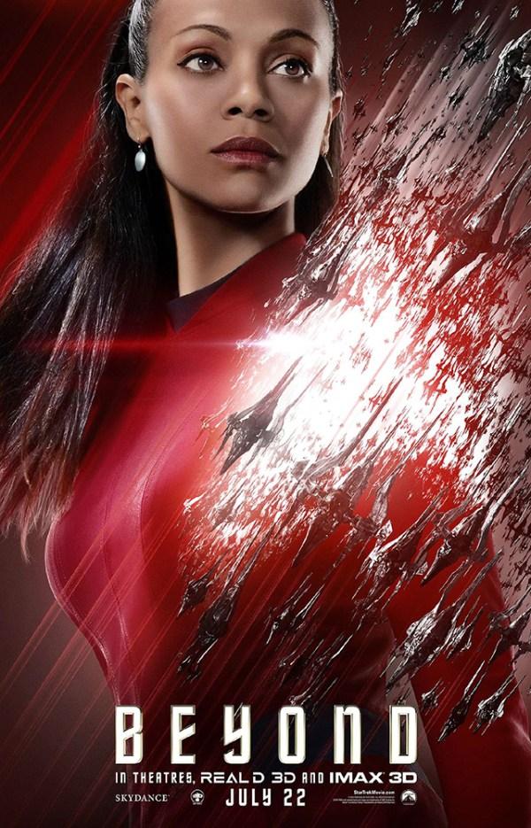 Uhura poster for 'Star Trek Beyond'
