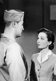 Robert Mitchum and Ann Blyth in 'One Minute to Zero'