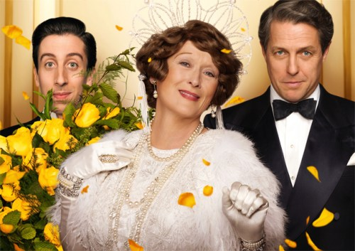 Simon Helberg, Meryl Streep and Hugh Grant in 'Florence Foster Jenkins'