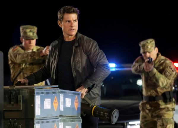 Tom Cruise in 'Jack Reacher: Never Go Back'