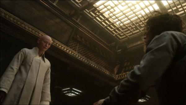 Tilda Swinton and Benedict Cumberbatch in 'Doctor Strange'