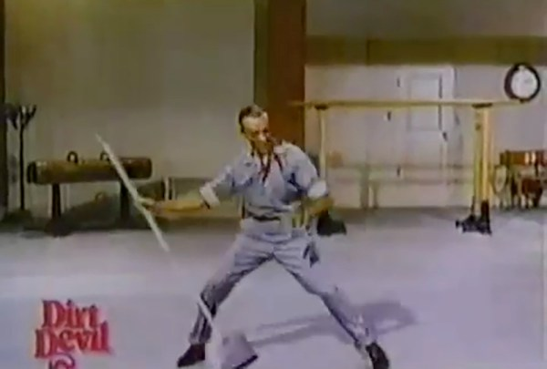Fred Astaire in 1997 Dirt Devil commercial