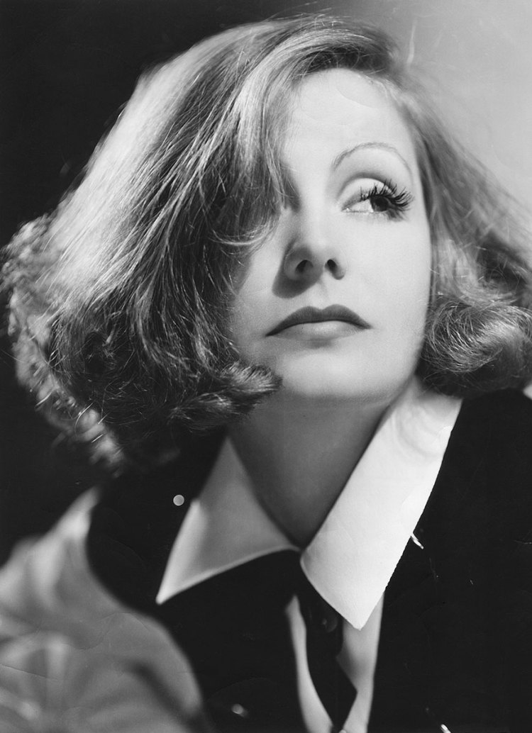 Screen beauty Greta Garbo