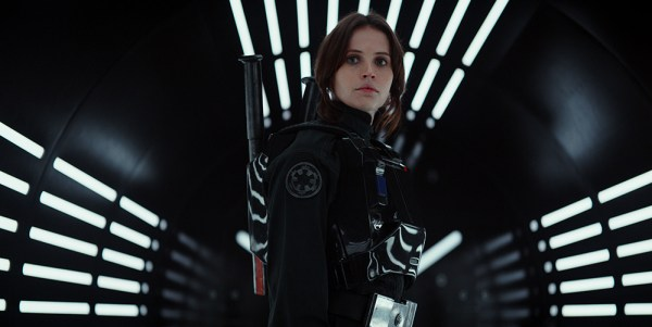 Felicity Jones plays Jyn Erso in 'Rogue One: A Star Wars Story'