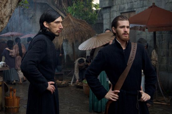 Adam Driver (left) and Andrew Garfield in 'Silence'