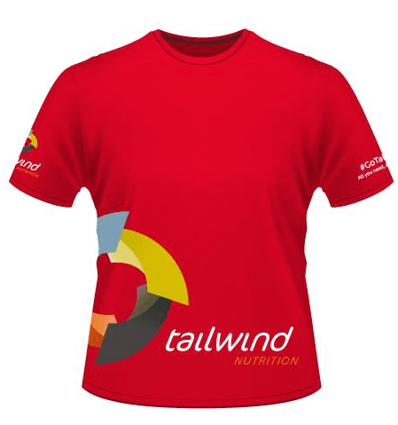 Red Technical Tshirt