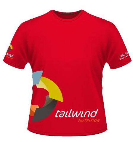 Red Technical Tshirt