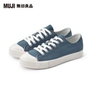 【MUJI 無印良品】撥水加工有機棉舒適休閒鞋(共6色)