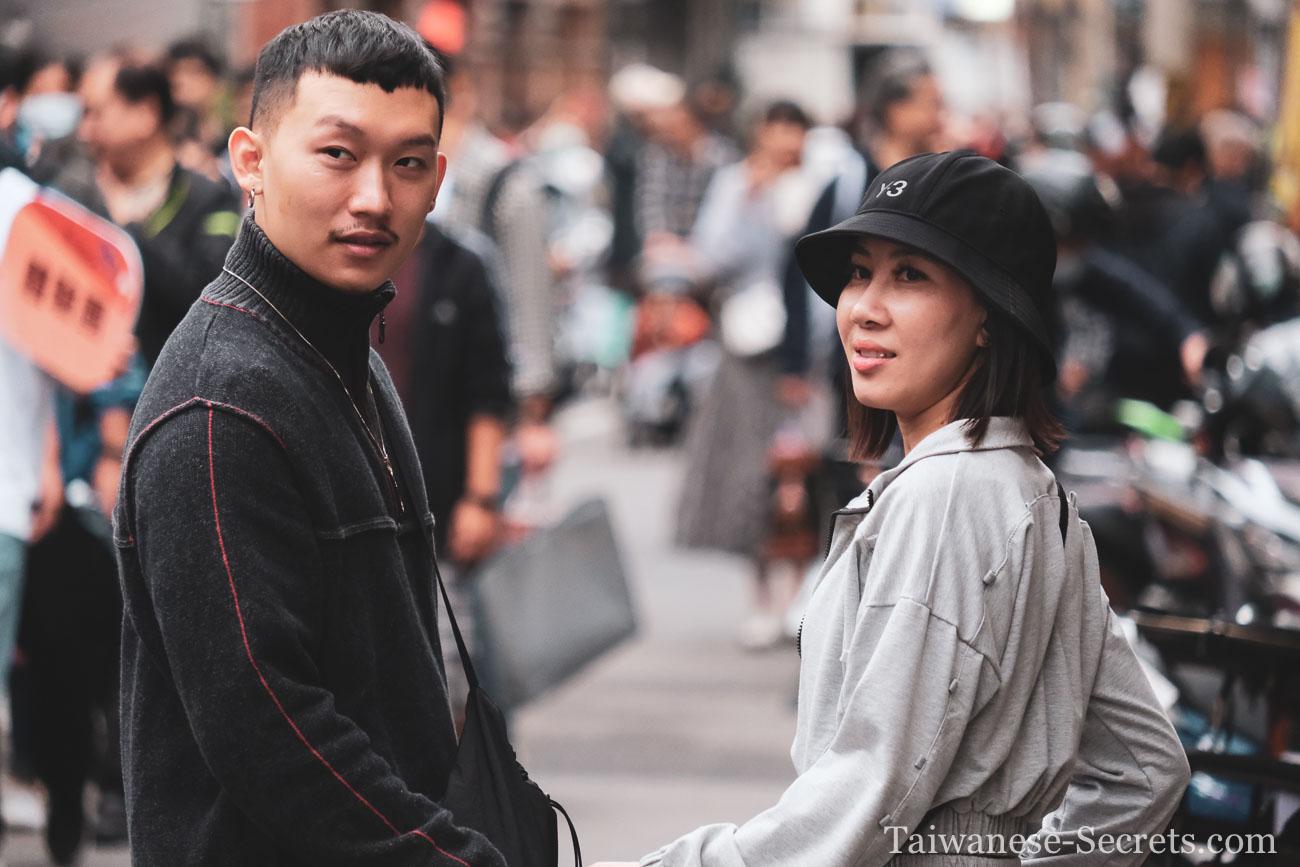 taiwanese man and woman