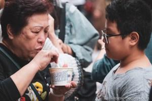 taiwanese kid and grandma