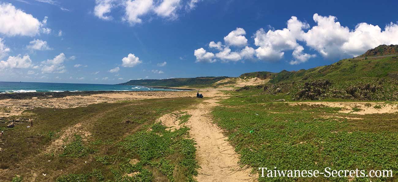 風吹砂墾丁國家公園台灣