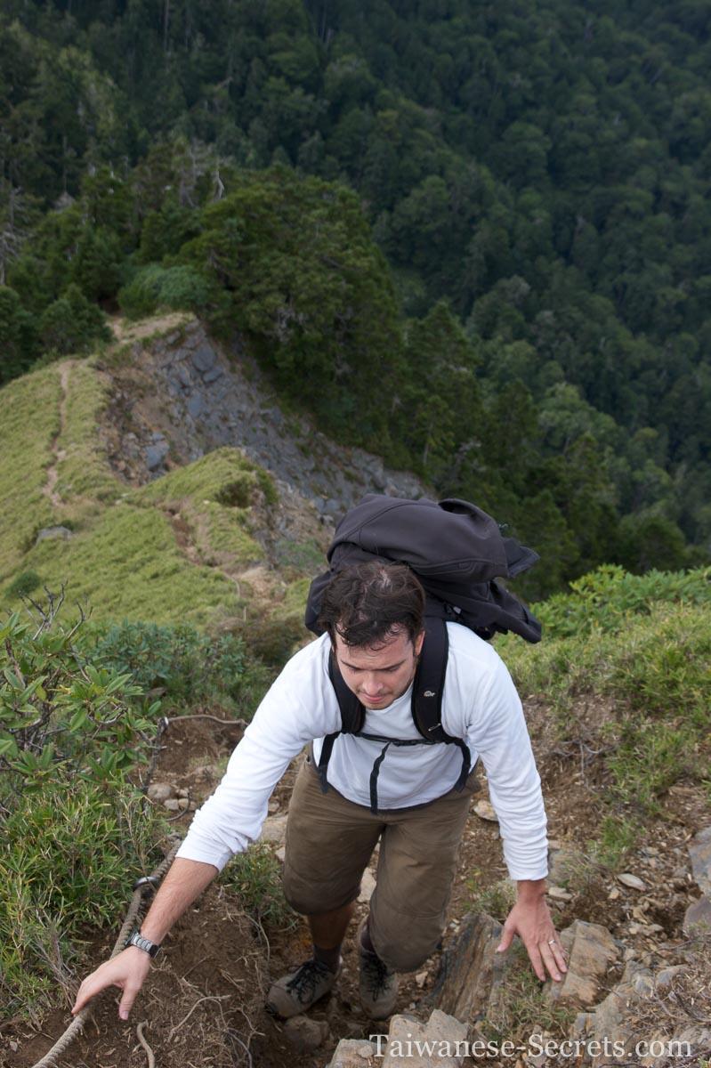 ridge climb hehuan west