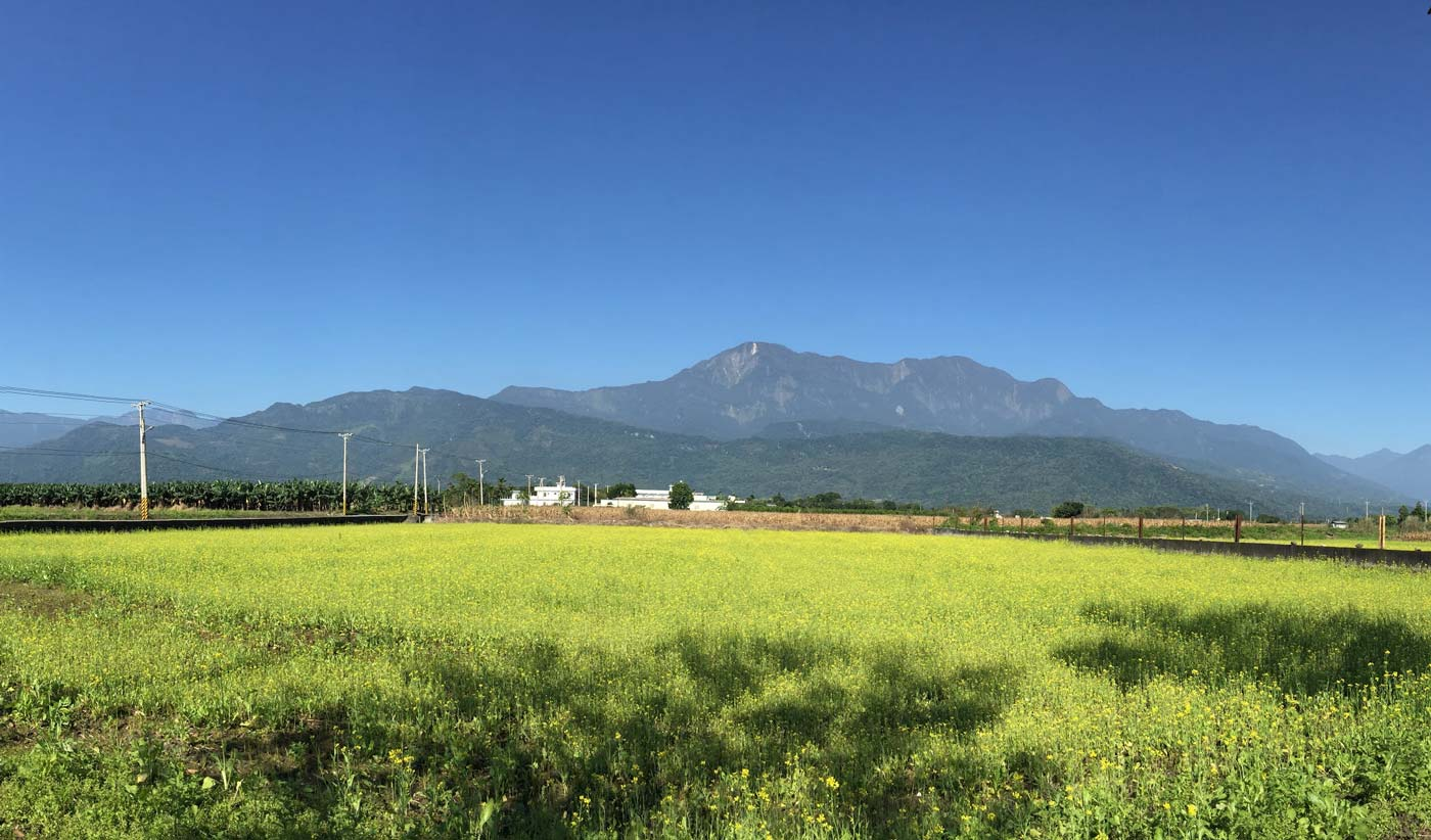Mountains of Taitung