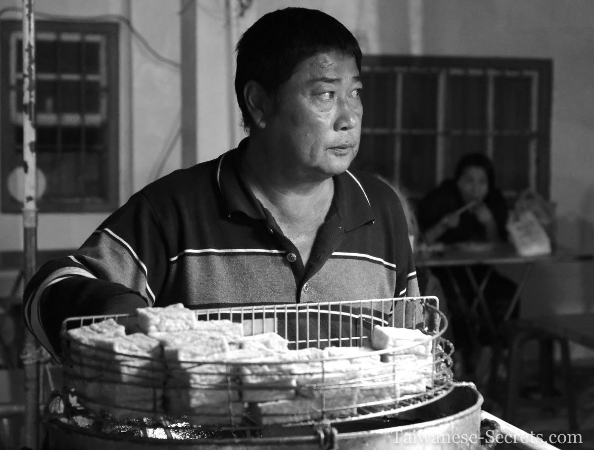 Stinky tofu seller in hengchun