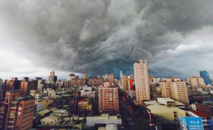 Thunderstorm in Taichung
