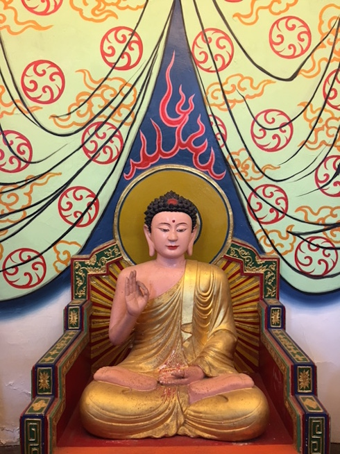statue of a buddha at baguashan