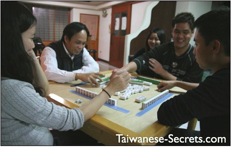 chinese game mahjong