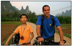 cycling in china, yangshuo