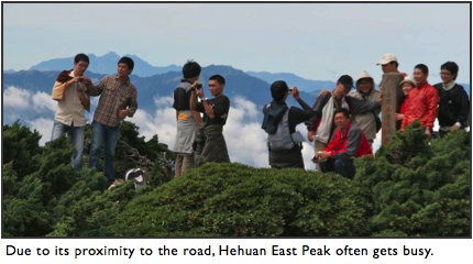 hehuan east peak