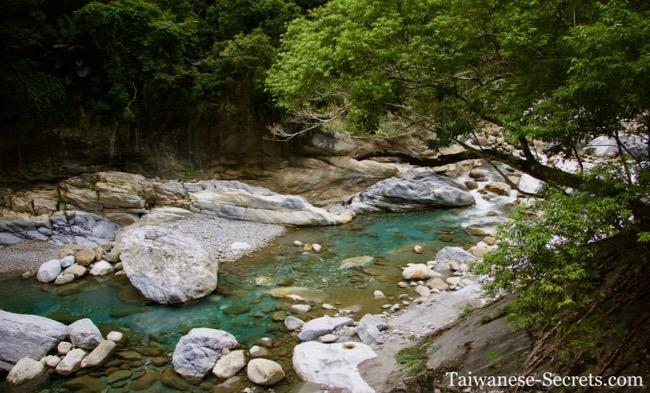 Shakadang Trail, Taroko