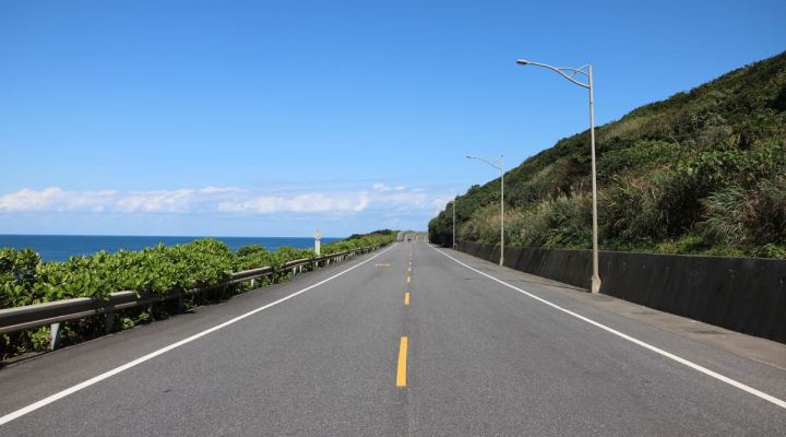 hitchhiking on the east coast of taiwan