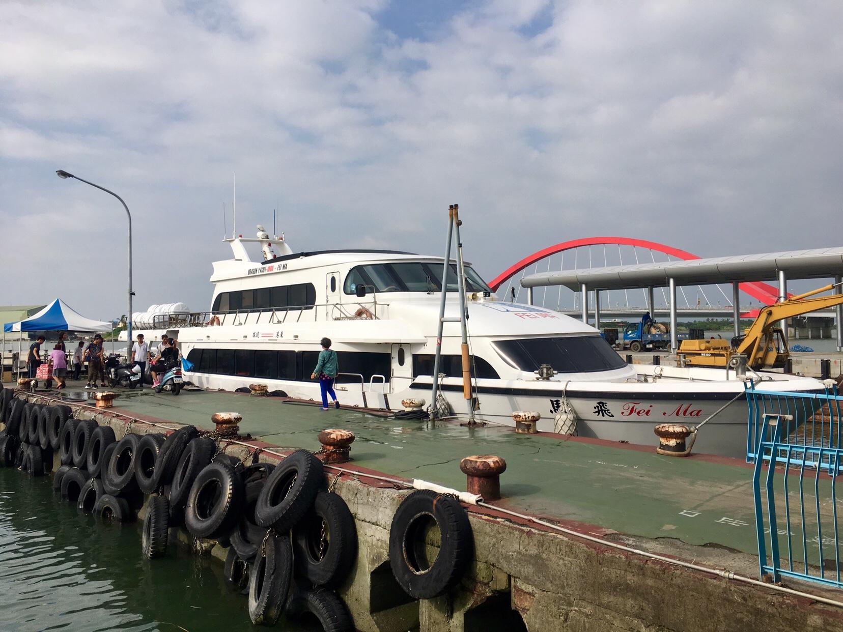 Fast boat to xiao liuqiu
