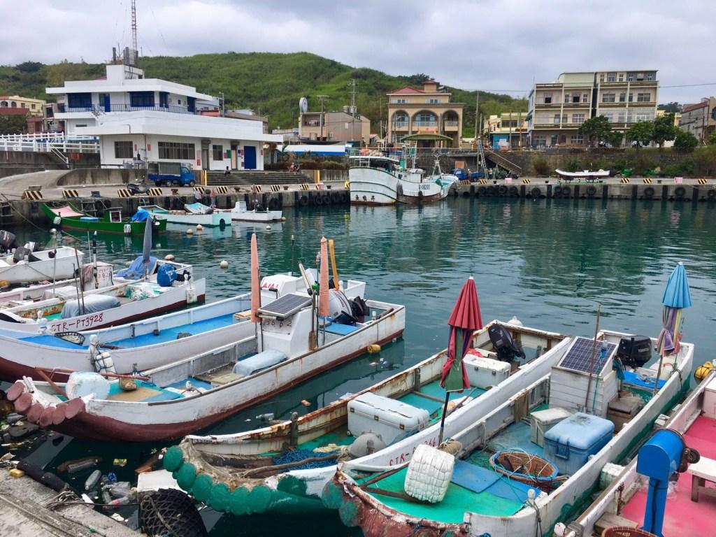 donggang to Little liuqiu island