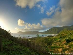 windy rock viewpoint lanyu orchid island taiwan