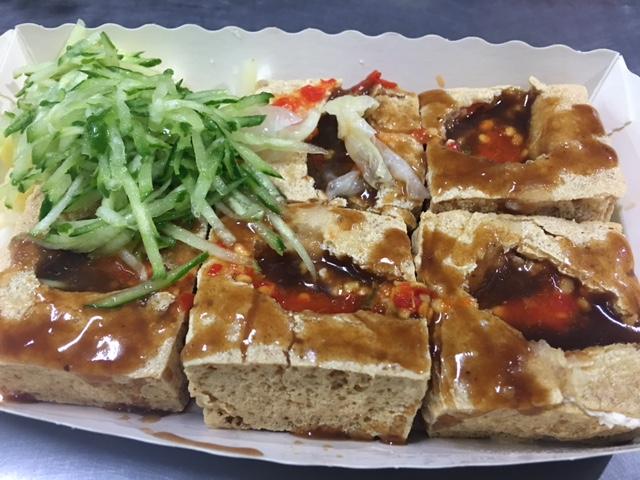 stinky tofu in taiwan