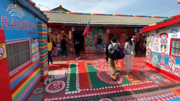 Inside the Rainbow Village