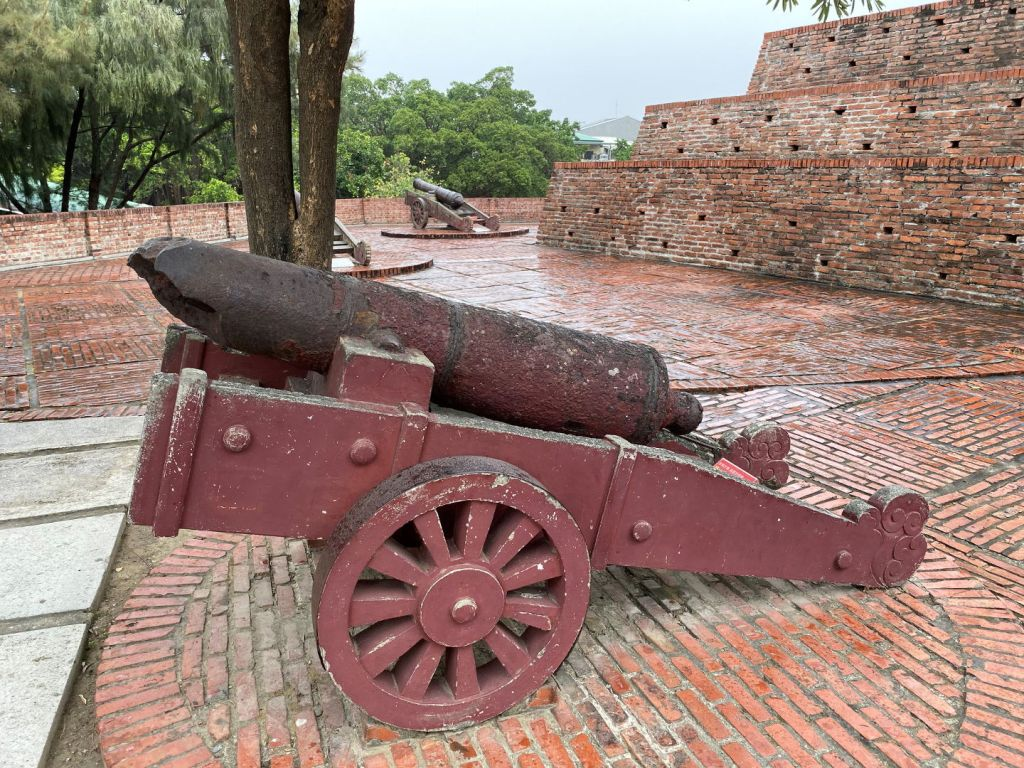 Fort Zeelandia Anping Old Fort cannon