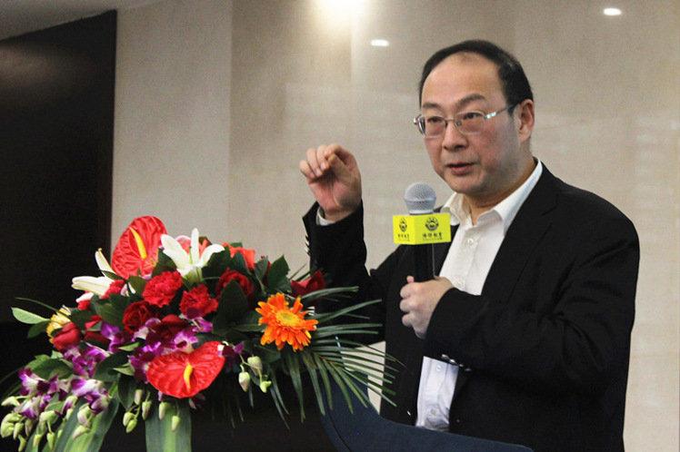 中國人民大學國際關係學院副院長、北京智庫金燦榮教授。(圖擷自博聞社網站。)
