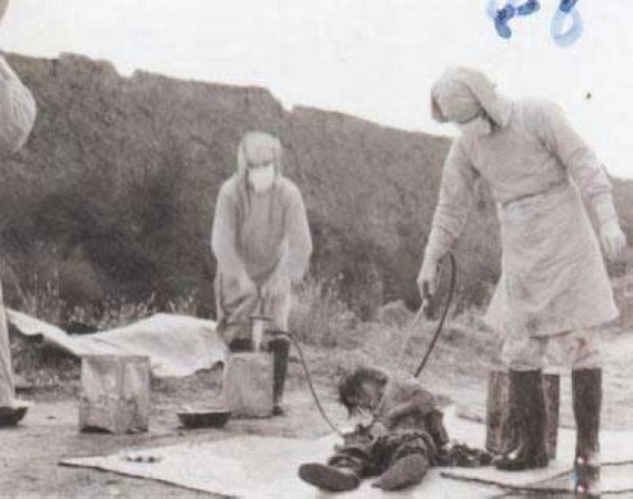 731 Illegal human experiment Japan Army 1