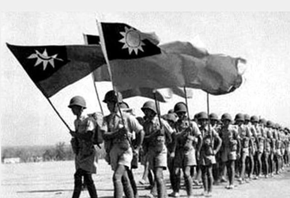 Fathers Day of Republic of China For Japan War Fight 01