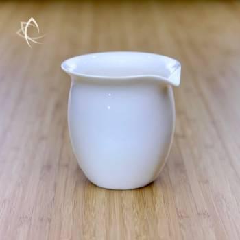Elegant Tea Pitcher Larger Size Angled View