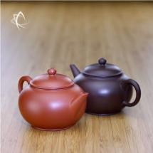 Small Purple and Red Clay Clay Shui Ping Teapots Feature View