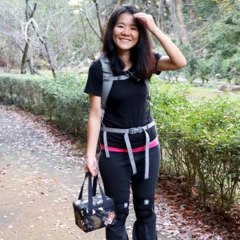 A weekend trek with the Insulated Tea Travel Tote Pack