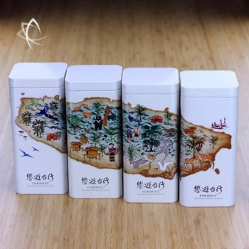 Tour of Taiwan Group of 4 Canisters