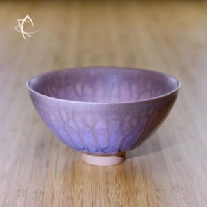 Rose Hare's Fur Drip Chawan Featured View