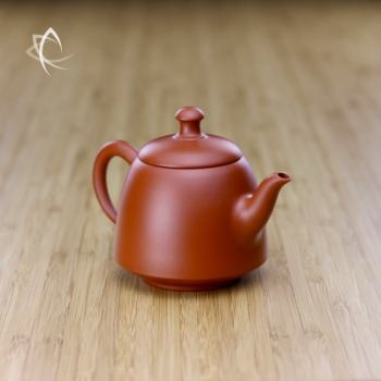 Hand Thrown Bell Shaped Teapot Angled View