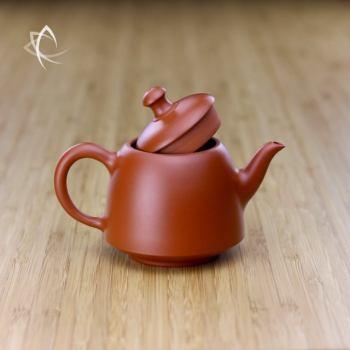 Hand Thrown Bell Shaped Teapot Lid Open View